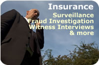 Insurance Private Investigative Serices
